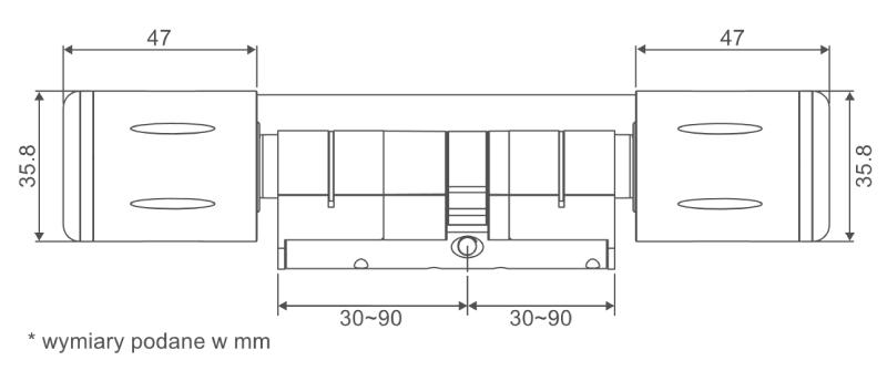 CYLINDER-C700N-wymiary
